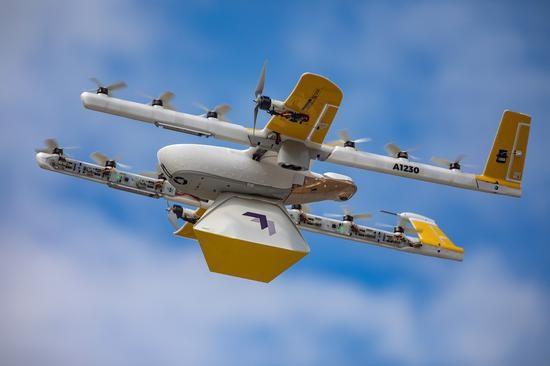 Alphabet希望在美扩大无人机运营规模通过中央枢纽控制无人机编队