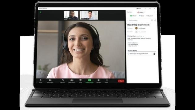 Zoom推出应用商店将第三方应用整合进视频会议中